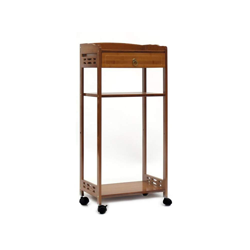 T11 XUERUI Shelves Shelf Magazine Table Bamboo Wood Solid Bedside Storage Paper Rack (Size   T9)