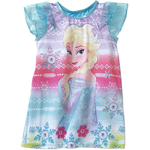 Disney Frozen Fancy Dressup Girls Nightgown, Toddlers Size 4T - Fancy Dress Up Clothes