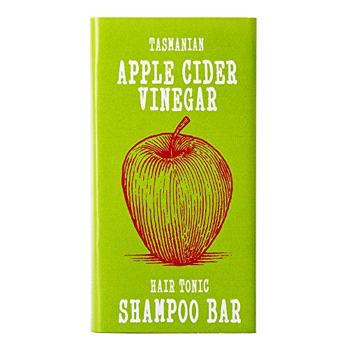 Apple Cider Vinegar Hair Tonic Clarifying SHAMPOO BAR | Shiny Healthy Hair | All Natural | Chemical Sulfate Free | Helps Dandruff | by Beauty and the Bees in Australia's Wild Island Tasmania