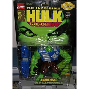 The Incredible Hulk: Transformations Smart Hulk with Gamma ...