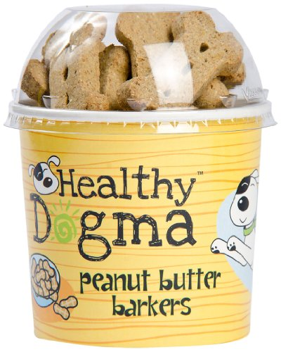 Healthy Dogma Peanut Barkers Biscuits product image