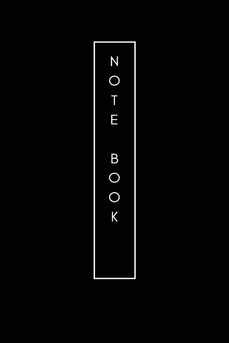 """Download Notebook:black cover ,Blank Notebook (6""""x9"""") 122 pages: Simple and beautiful. It's interesting.Outstanding pdf epub"""