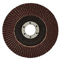 """10 Pack 4-1/2"""" Aluminum Oxide Flap Disc 80 Grit"""