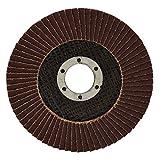 "20 Angle Grinder Flap Discs 4-1/2"" Flat 80 Grit"