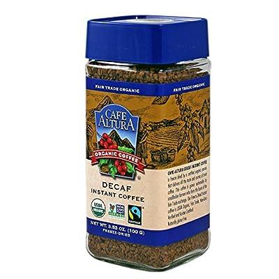 Cafe Altura Organic Fair Trade Decaf Instant Coffee, 3.53 oz