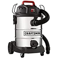 Craftsman 8 GALLON Wet Dry Vac , Up To 4 HP