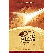 40 Days of Love Study Guide by Warren Rick (6-Nov-2009) Paperback