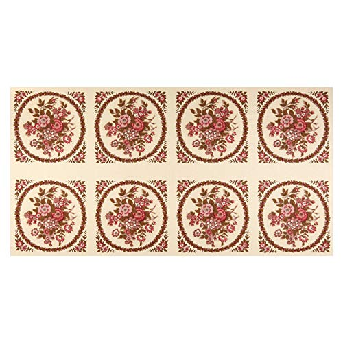 (Andover Windermere Bouquet Fabric, Rose)