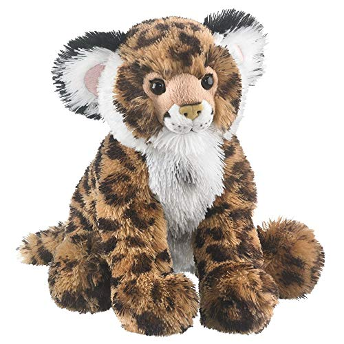 Wildlife Tree 13 Inch Jaguar Cub Floppy Plush Primate Stuffed Animals Conservation Collection (Jaguars Snuggie)