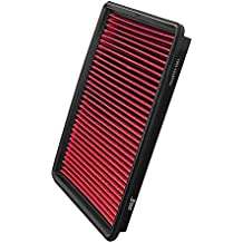 Upgr8 U8701-1001 Hd PRO OEM Replacement High Performance Dry Drop-in Panel Air Filter Red (Excluding 4.0L Engine)