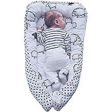 Double-sided baby nest, Baby Nest White, Newborn Sleep Bed, Cocoon-cradle, Newborn Baby Nest, Multi Baby Nest, Baby Nest for crib, Baby cocoon