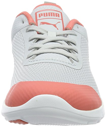 Puma Women's Trax Core Trainers, Multicoloured Grey (Glacier Gray-drizzle-porcelain Rose 01)