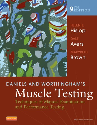 Daniels and Worthingham's Muscle Testing: Techniques of Manual Examination and Performance Testing (Daniels & Worthi