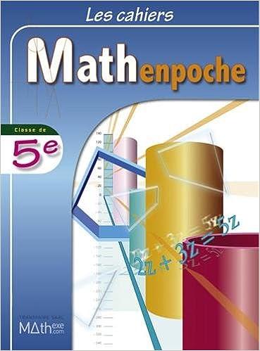 En ligne Les cahiers Mathenpoche 5e epub, pdf