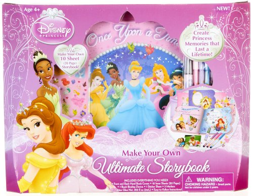 Disney Princess Make Your Own Ultimate Storybook by