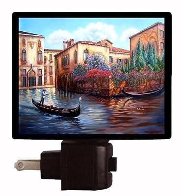 Italy Night Light - Gondola - Venice - Italian