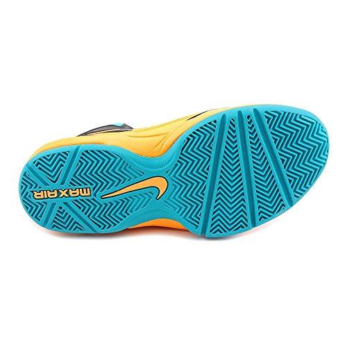 Nike Mens Lunar Fingertrap Cross Trainer Nero / Palestra Blu-bianco