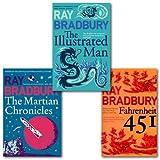 Flamingo Modern Classics Book Bundle: The Martrian Chronicles, Fahrenheit 451, The Illustrated Man