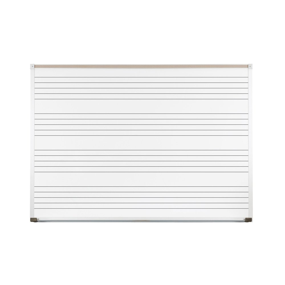 Porcelain Steel Music Line Board (6 ft. W)