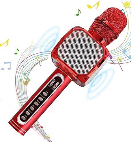 ZHWEN ZL Micrófono inalámbrico Karaoke, Reproductor portátil de ...