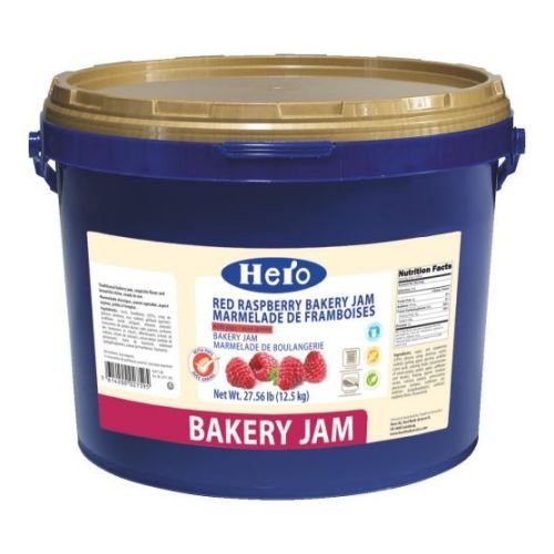Hero Raspberry Marmalade with Seeds, 27.5 Pound -- 1 each. by Hero