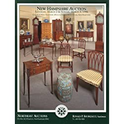 Northeast Auctions Catalog: March 2 & 3, 1996 - Silver, Bronzes, Victorian and Later Furniture and Decorations, Staffordshire Dogs and Tableware, Clocks, Dutch Tobacco Boxes, Paints, Prints, Sampler and Miniature Portraits, Pewter.