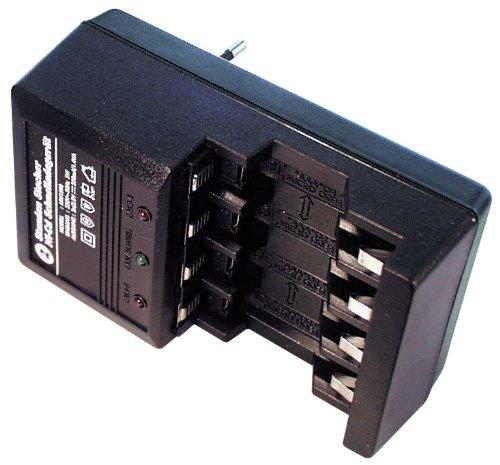 2//4 pile a stilo AAA al NiCd con funzione timer Transmedia NL1QL tempo di ricarica: 2 ore Caricabatterie rapido con spina per 2//4 pile a stilo AA