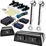 Biltek 2x Door Car Power Window + Keyless Door Unlock Kit Compatible with Ford Super Duty F-100 Ranger F-150 Heritage F…