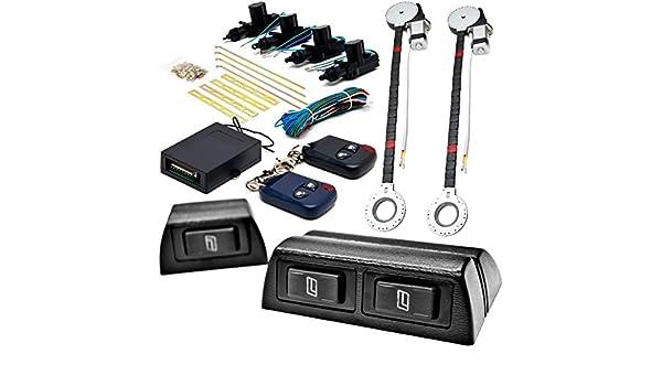 2 Car Window Power Kit For Toyota Volkswagen 4Runner Camry Echo Cruiser