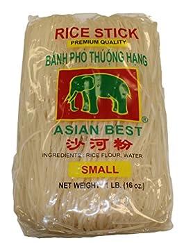Asian Best Premium Rice Stick Noodle, 16 Oz (3 Pack) 4