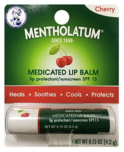 Mentholatum Lip Balm, Cherry