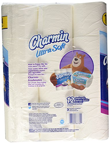 Large Product Image of 12 Double Roll Ultra Soft Charmin