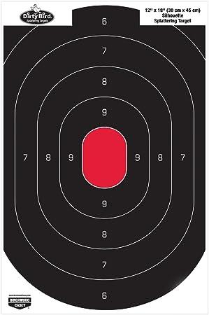 Birchwood Casey Dirty Bird 5.5 inch Round Splattering Target