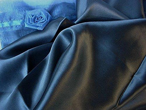 Set of two Navy Blue 100% Mulberry Silk Pillowcase Queen/sta