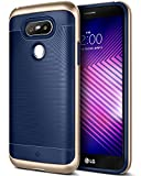 Caseology Wavelength for LG G5 Case (2016) - Stylish Grip Design - Navy Blue
