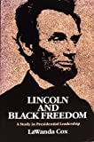 Lincoln and Black Freedom 9780252011733