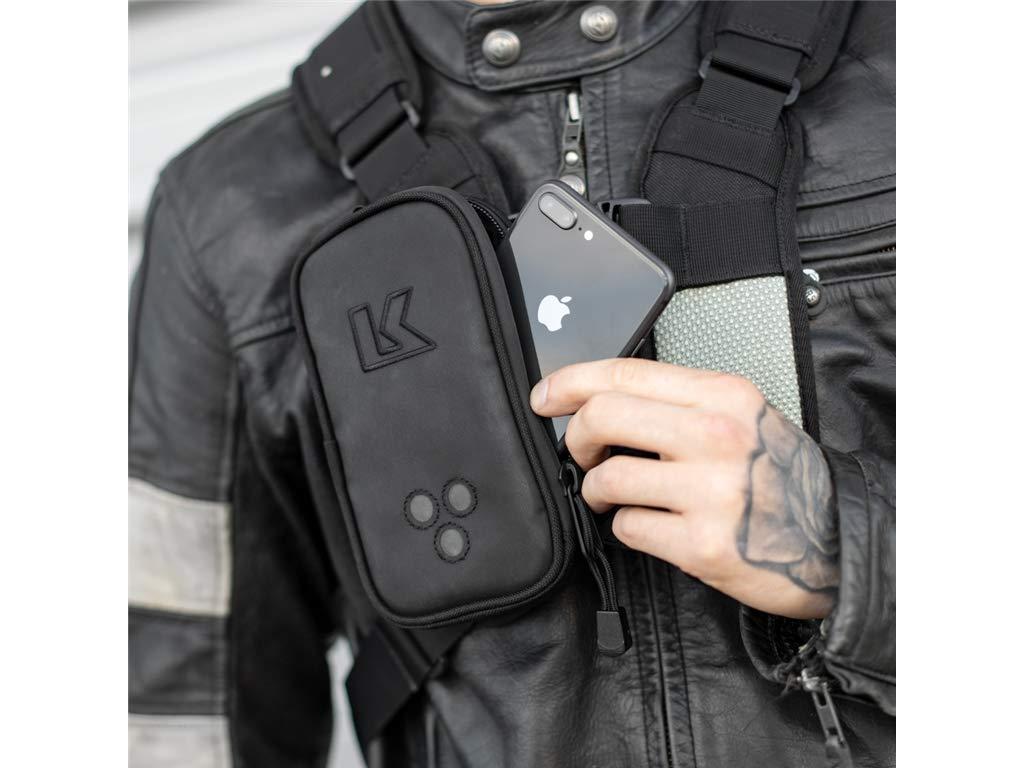 XL Links Tasche Kriega Harness Pocket XL zum befestigen am Rucksack oder Umh/ängetasche