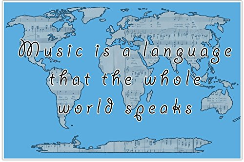 Buy cheap music language classroom school education poster