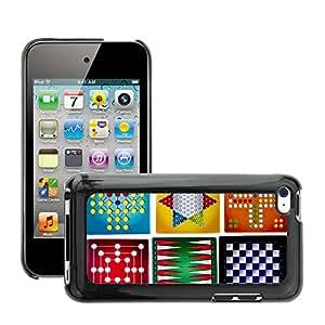 Print Motif Coque de protection Case Cover // M00155517 Antecedentes de Backgammon Junta // Apple ipod Touch 4 4G 4th
