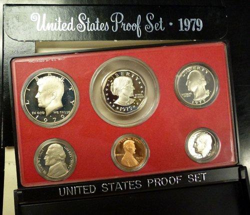(1979 U.S. Mint Proof Set Original Mint Pkg)