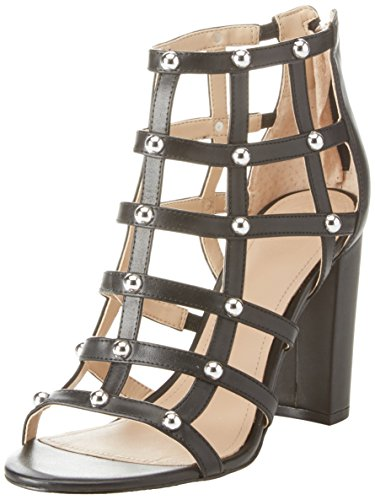 Punta Footwear Guess Donna Tacco Scarpe Shootie Aperta col Dress Nero RwUFCUnq