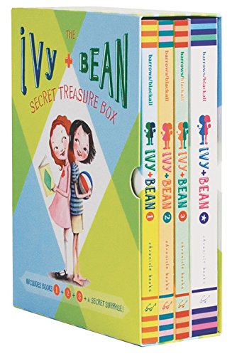 Gifts to get 9 year old girl Ivy & Bean's Secret Treasure Box (Books 1-3)