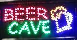 Beer Cave L.E.D.Sign