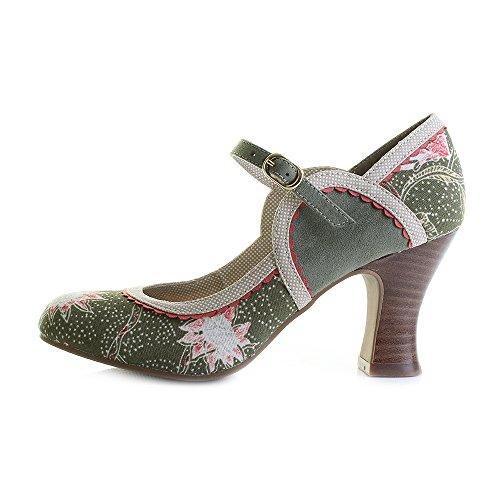 Shoo Green Ruby Mary Rosalind Pumps Jane Avocado Women's axadO4qg