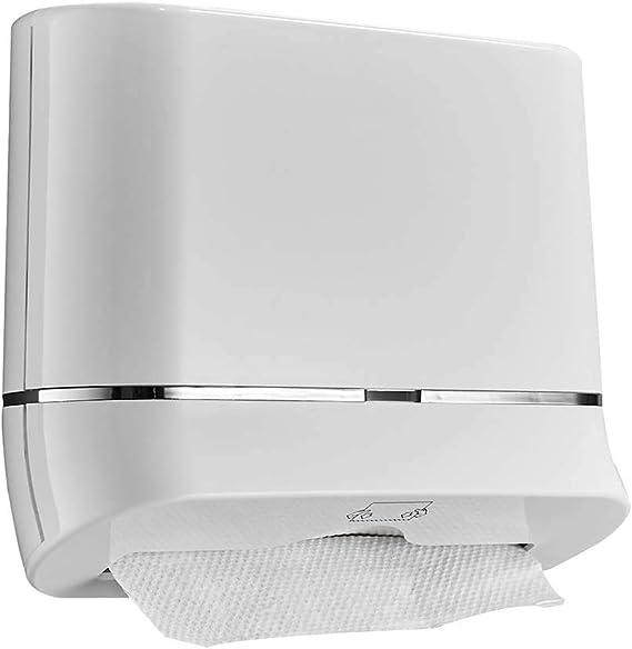 16LYP Dispensador de pañuelos de Pared para baño, dispensador Compacto de Toallas de Papel, Comercial, sin Perforaciones, dispensador de Toallas de Papel para el hogar y la Cocina: Amazon.es: Hogar