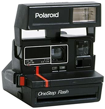 Amazon.com : Impossible PRD2500 Polaroid Red Stripe 600 Camera for ...