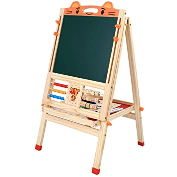 Amazon.com: XNYY BABY Childrens Art Easel Double-Sided Magnetic ...