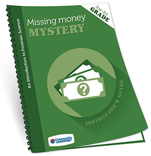 The Missing Money Mystery Forensic Science Super Summer Science Camp Kit by Community Learning (Image #2)