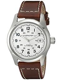 Hamilton Men's HML-H70455553 Khaki Field Silver Dial Watch