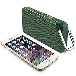 ILUV AUDMINIS6GN App-Controlled Splashproof Bluetooth(R) Speaker (Green)